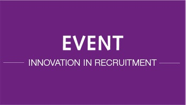 Event thumbnail - Innovation in Recruitment