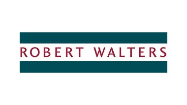 Robert Walters logo with green background
